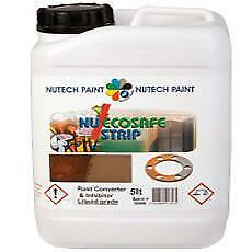 Nu EcoSafe Rust Converter & Inhibitor Corrosion Protection Paint Painting