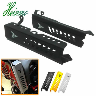 CNC Billet Radiator Side Guards Cover Protector For Yamaha FZ-09 MT-09 2014-2016