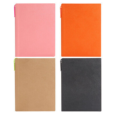 Leather Journal / Writing Notebook / Blank Diary / Lined Pages Book W/ Pen Slot