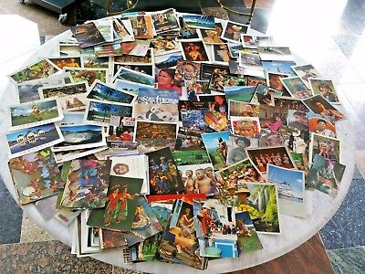 Vintage World Island Postcards.  Massive Lot.  Bulk approx 200 cards