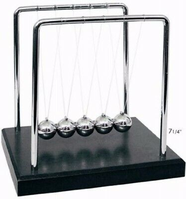 New Newtons Cradle Balance Balls 7 1/4 inch US seller