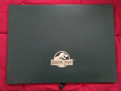 Jurassic Park Authentic Lithograph Art Set by Crash McCreary Like New No Posting