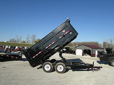 Pj 14' Heavy Dump Trailer W/4' Solid Sides *year End Sale Going On @ Dr Trailer