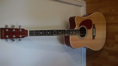 Semi Acoustic Guitar with Pick Up