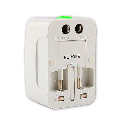Universal Travel Adapter US UK AU EU Electrical Plug Power Socket Charger