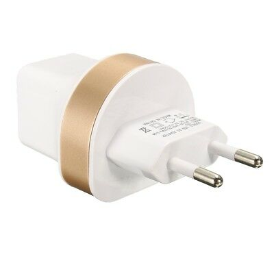 Universal EU 5V 2.1A Dual 2 USB Home Travel Wall Power Charger Charging Adapter