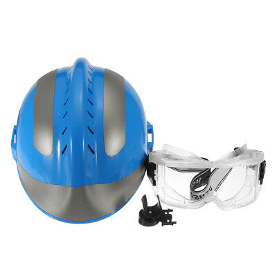 Rescue Helmet FireFighter Protective Glasses China CAPF Safety Protector F2 Blue