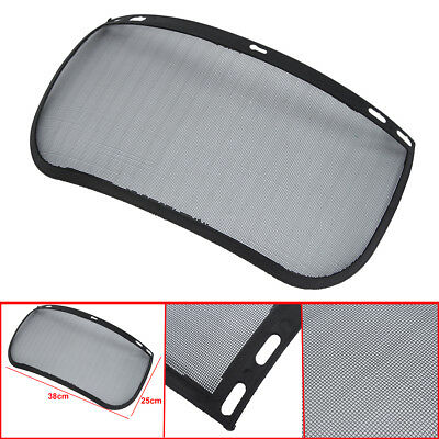 Mesh Full Visor Flip Up Face Shield Screen for Safety Mask Eye Protector Helmet