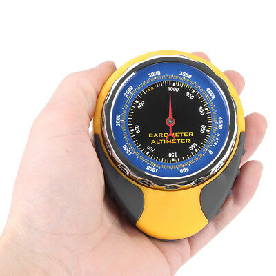 4 in 1 Digital Compass Altimeter Thermometer Barometer Outdoor Travel Camp Hike
