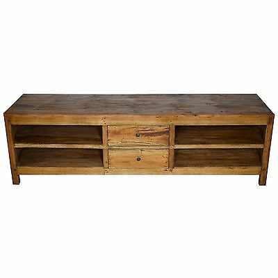 Antique Wood Sideboard Cabinet Chest Of Drawers Rustic RTV Country Style