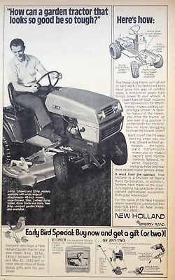 1972 Ad(Xb5)~Sperry Rand New Holland S-14 Hydrostatic Mower