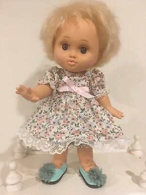 Galoob Baby Face Doll - So Loving Laura - New Shoes And Outfit