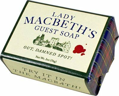 Lady Macbeth's Out, Damned Spot! Guest Soap: 2 oz. Bar