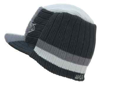 Wulfsport Striped Beanie Hat