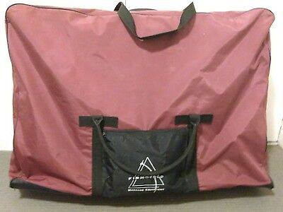 Massage table, portable, with carry bag - firm n fold brand