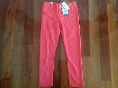 BNWT - PUMPKIN PATCH girl mango stretchy jeggings (size 8) RRP $32.99 - 50% off