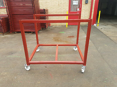 Steel Trolley, Steel Stillage,metal post pallet, stackable, heavy duty