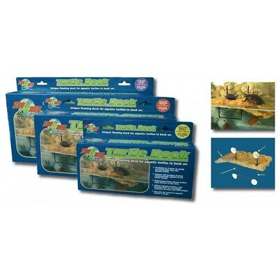 Zoo Med Floating Turtle Dock Small, Medium, Large & Suckers Zoomed Terrapins