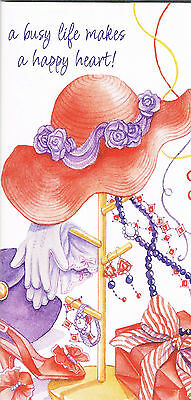 "2018-2019 Red Hat Society 2 Year Diary/Planner ""A Busy Life Makes A Happy Heart"""