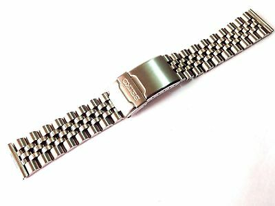 Seiko 20Mm Straight End Divers Jubilee Stainless Steel Watch Strap / Band (Se-6)