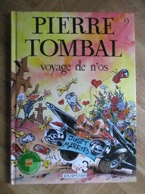 Pierre Tombal 9 Voyage De N'os Cauvin/hardy Eo Tbe (D32)