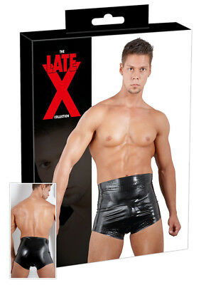 Latex Windelslip schwarz L