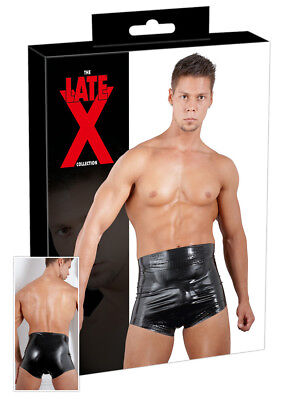 Latex Windelslip schwarz S