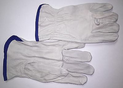 **12 PAIR** X-LARGE Condor Goatskin Leather Work/Drivers Gloves.