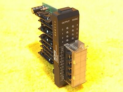 ***Perfect*** Ge Fanuc Ic610Mdl175B 115 Vac Output Module 8 Circuits
