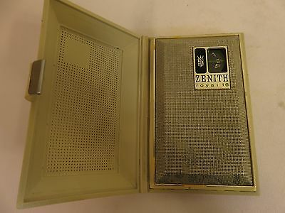 Vintage Rare Zenith Royal 16 Model 506 Transistor Radio Made In Japan Tested