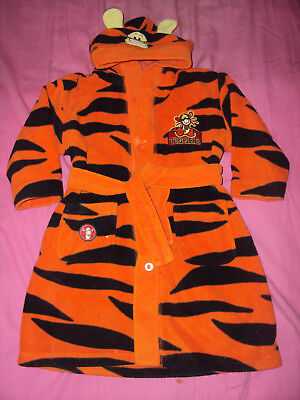 Disney Tigger Hooded Dressing Gown 12/18 Mnth