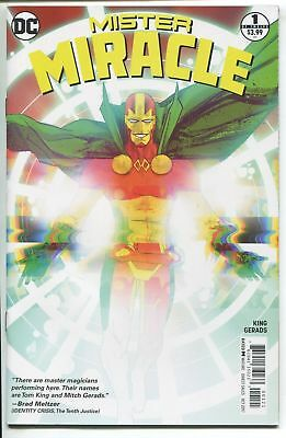 2017 Mister Miracle #1 Unread 1st Print Cover B Mitch Gerads Tom King