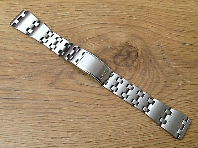 New 19Mm Seiko Stainless Steel Gents Watch Strap For Various Seiko Sports Models