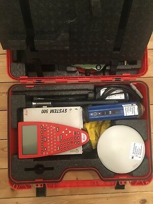 Leica GPS System 500 Base Station. TR530 Controller, SR530, AT 502 Antenna
