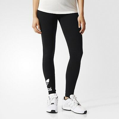 Women's Adidas Originals Trefoil Leggings Black [Z]AJ8153