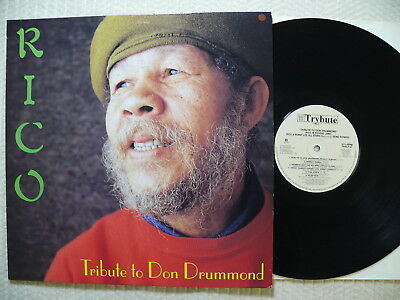 Rico  Tribute To The Don Drummond  UK 1997 Trybute  TRLP 01  RARE !  EX+