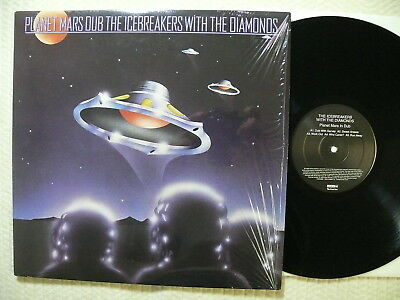 The Icebreakers with The Diamonds  Planet Mars Dub  US 2000  Archive  MINT