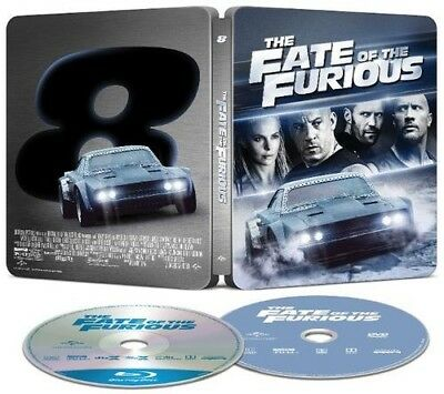 Steelbook The Fate of the Furious Bluray DVD Digital New Best Buy Exclusive