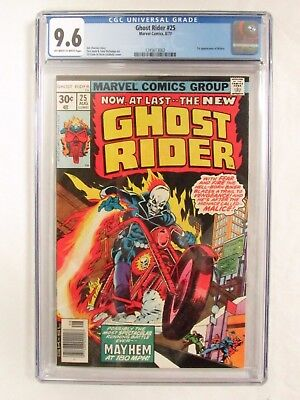Ghost Rider #25 (1977) 1st Malice Appearance CGC 9.6 Marvel Comics CM205