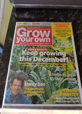 Grow Your Own December 2017