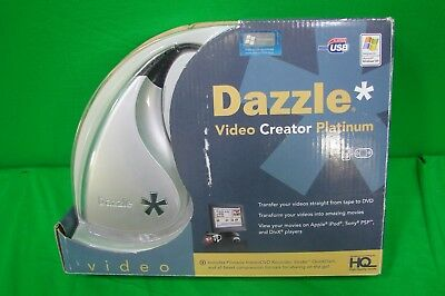 PINNACLE DAZZLE Video Creator Platinum w/Studio 10 Software, Video Transfer Unit