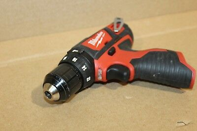2454 Milwaukee M12 12-Volt Lithium-Ion Cordless 3/8 in Drill/Driver  2408-20