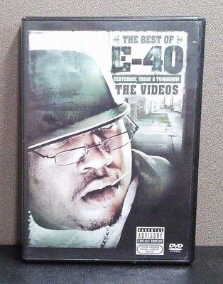 The Best of E-40: Yesterday, Today & Tomorrow - The Videos    (DVD)     LIKE NEW