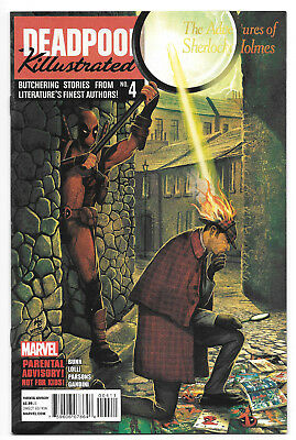 Deadpool: Killustrated #4 *Death of Frankenstein's Monster* Sherlock Holmes*