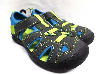 Faded Glory Boys Casual Sandals Shoes  Color Gray Blue Green Kids Summer
