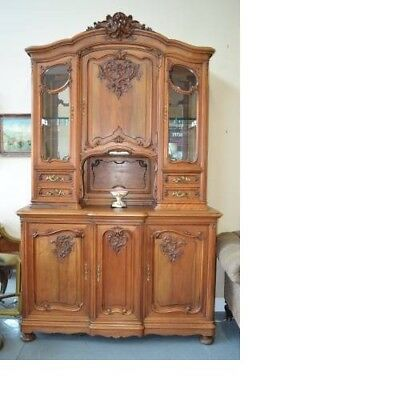 Antique French Hutch ~ China Cabinet ~ French Vaisselier