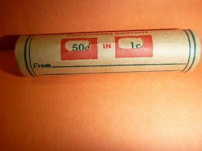Unsearched Flying Eagle Indian Head Cent Wheat Penny Roll 1902 &VDB ENDS COINS