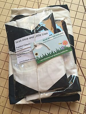 Bugaboo Cameleon carrycot bassinet fitted sheets x2 & Blanket Navy Blue Chevron