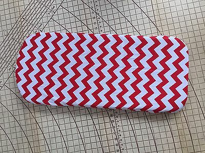 Bugaboo Buffalo fitted sheet for carrycot bassinet Red Chevron