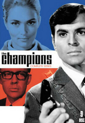The Champions - Complete Series NEW PAL Cult 9-DVD Set Stuart Damon A. Bastedo
